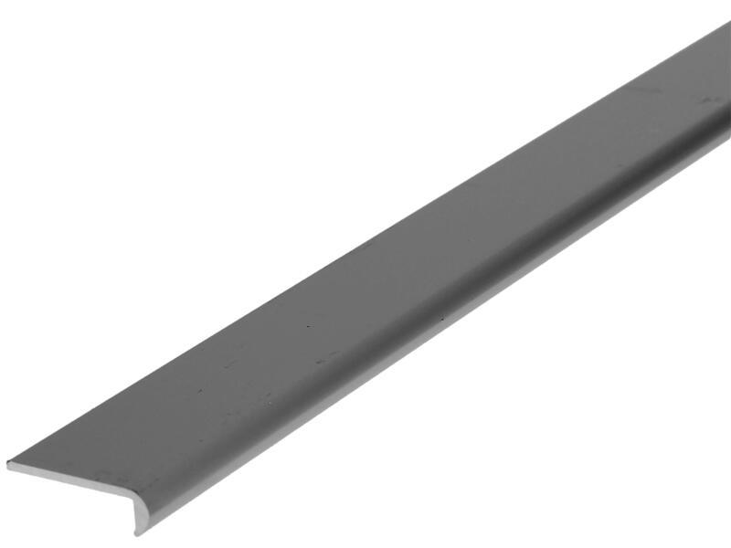 Arcansas Profil d'encadrement 1m 25mm aluminium mat anodisé