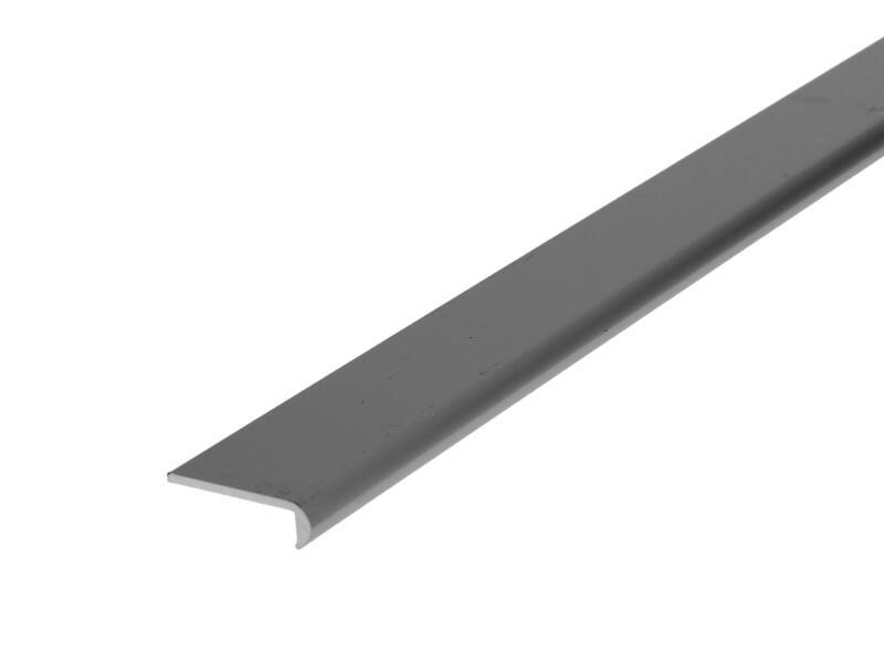 Arcansas Profil d'encadrement 2m 25mm aluminium mat anodisé