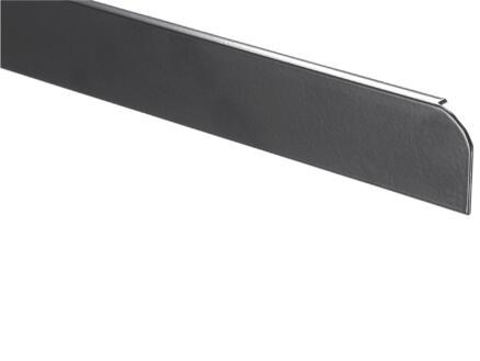 Profil de fin avec bordure aluminium W403