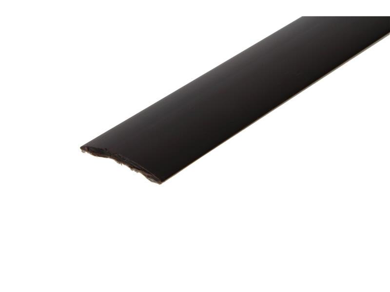 Arcansas Profil de jonction autocollant 90cm 30mm PVC marron