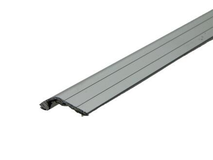 Arcansas Profil en S autocollant 90cm 29mm aluminium mat anodisé