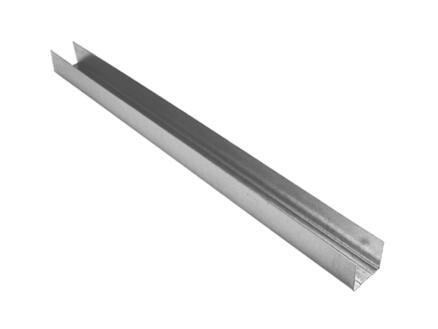 Profil en U 4m 27x27 mm acier