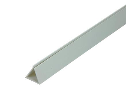 Arcansas Profil flexible 1m 17mm PVC blanc