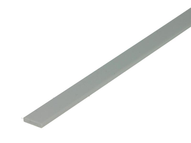 Arcansas Profil plat 1m 13mm 3mm PVC blanc