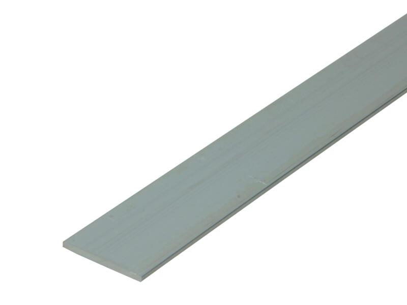 Arcansas Profil plat 1m 30mm 2mm aluminium naturel
