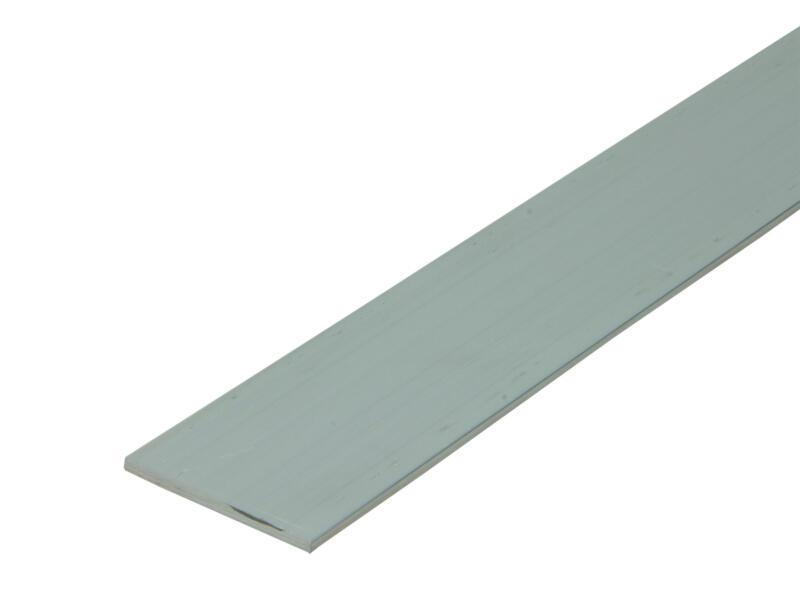 Arcansas Profil plat 2m 40mm 2mm aluminium naturel