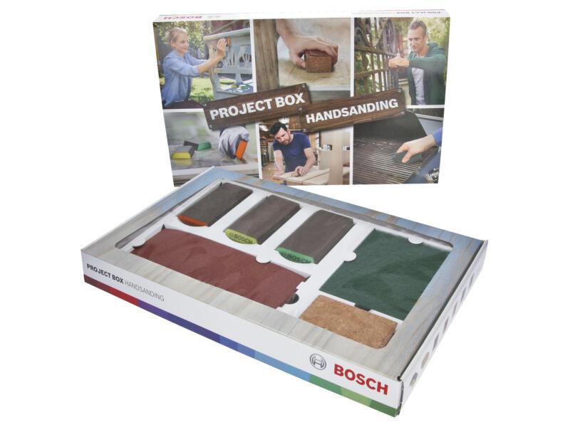 Bosch Project Box handmatig schuren 15 stuks