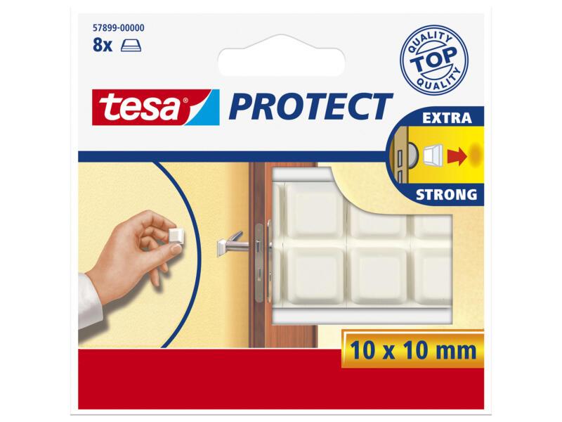 Tesa Protect butée andhésive anti-chocs blanc 8 pièces