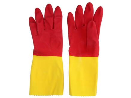 Vileda Protector gants de ménage L latex rouge