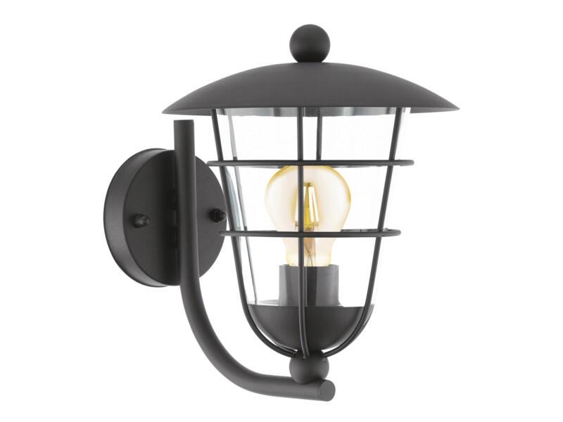 Eglo Pulfero wandlamp E27 max. 60W zwart