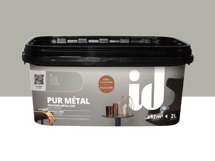Pur Métal muurverf metallic 2l platina