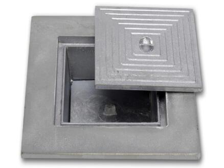 Putdeksel dubbel 50x50 cm aluminium