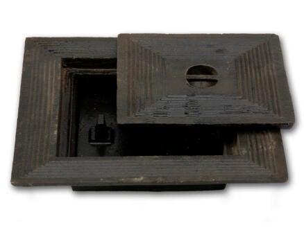 Putdeksel dubbel 50x50 cm gietijzer