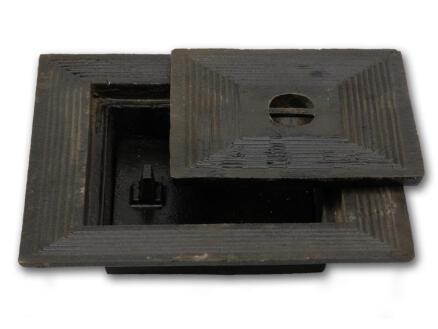 Putdeksel dubbel 60x60 cm gietijzer
