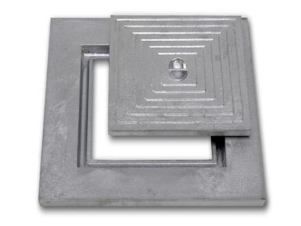 Putdeksel enkel 50x50 cm aluminium