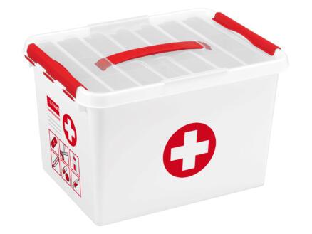 Sunware Q-Line First Aid EHBO-doos zonder inhoud 22l wit