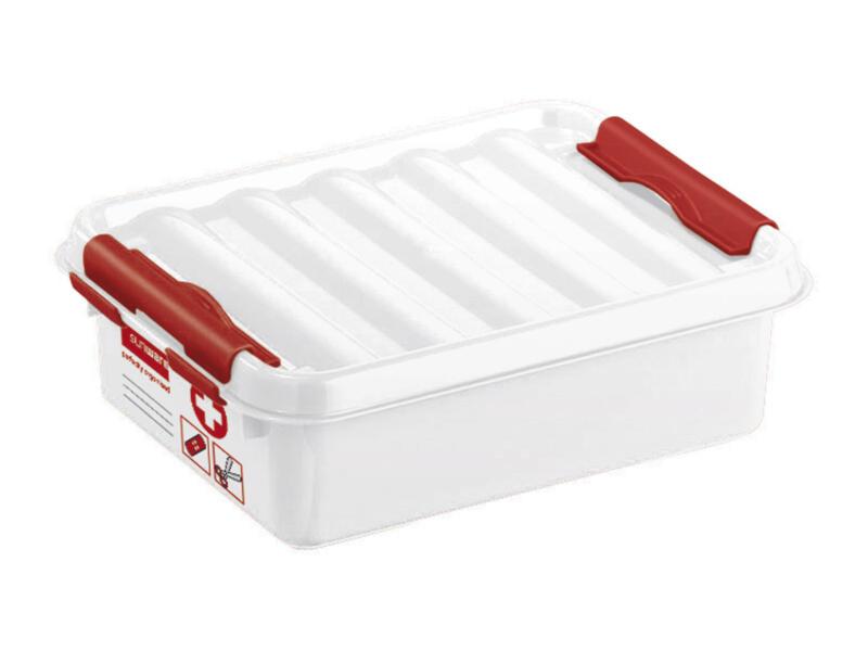 Sunware Q-line First Aid boîte de secours sans contenu 1l