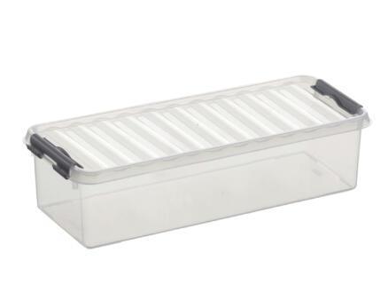 Sunware Q-line Mix & Match boîte de rangement 3,5l transparent/gris
