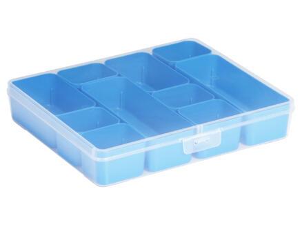 Sunware Q-line Mixed opbergbox groot transparant-blauw