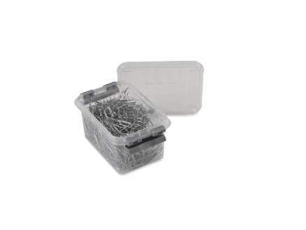 Sunware Q-line boîte de rangement 0,4l transparent/gris
