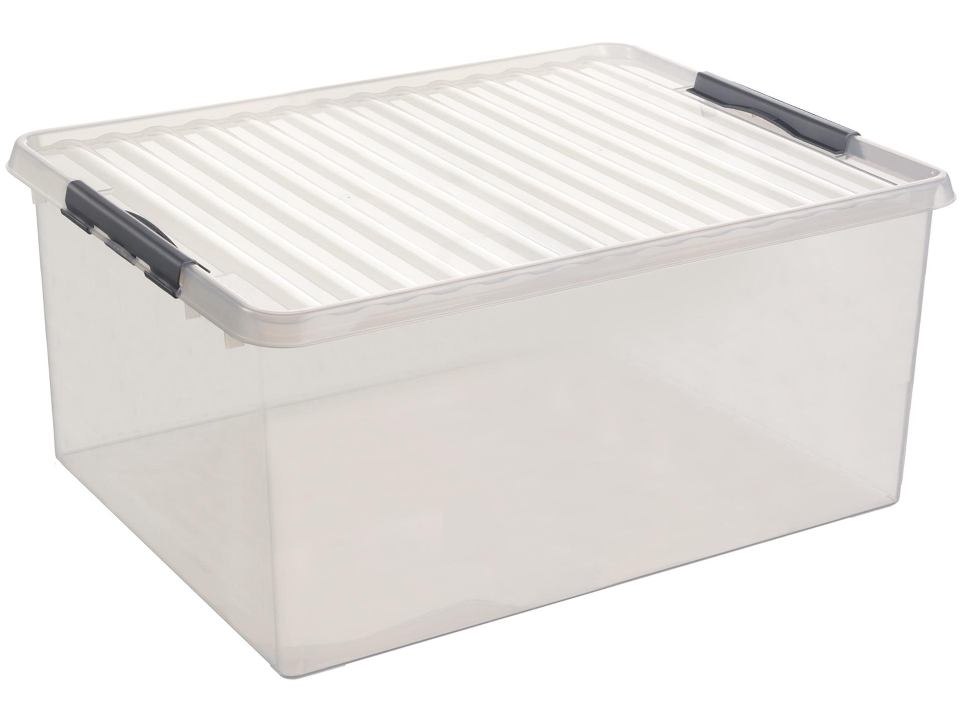la meilleure attitude 2e882 79209 Sunware Q-line boîte de rangement 120l transparent