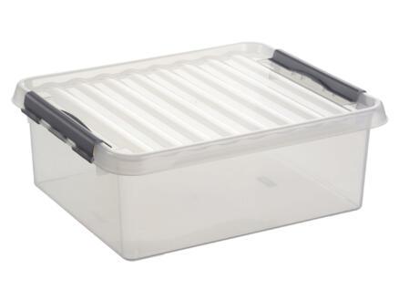 Sunware Q-line boîte de rangement 25l transparent