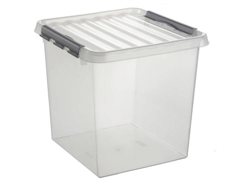 Sunware Q-line boîte de rangement 38l transparent