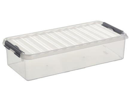 Sunware Q-line opbergbox 6,5l transparant