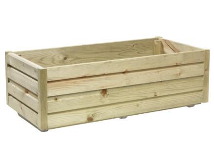 Gardenas QB bloembak 80x40 cm hout