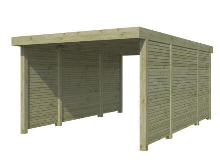 Gardenas QB carport 300x500 cm combinatie C