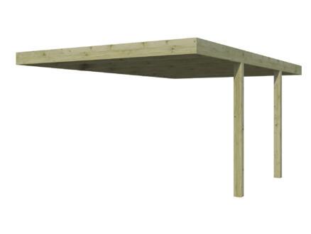 Gardenas QB carport aanbouw 300x500 cm hout
