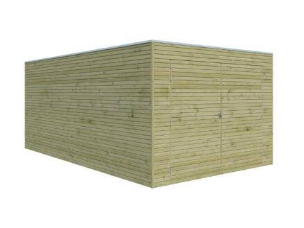 Gardenas QB garage 300x510x216 cm bois
