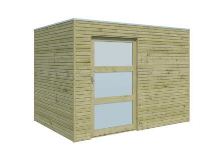 Gardenas QBS I tuinhuis 300x210x216 cm deur 103cm hout