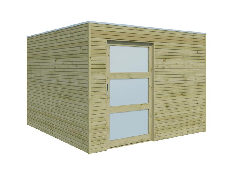 Gardenas QBS II tuinhuis 300x300x215 cm hout