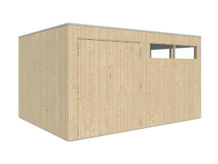 Gardenas QBV L tuinhuis 399x298x220 cm hout