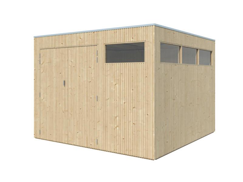 Gardenas QBV M tuinhuis 298x298x220 cm hout