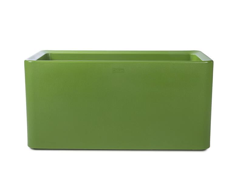 Quadris 40 Long jardinière 90x44 cm vert olive