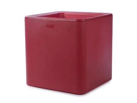Quadris 40 bloempot 44x44 cm rood