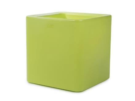 Quadris 40 pot à fleurs 44x44 cm citron vert