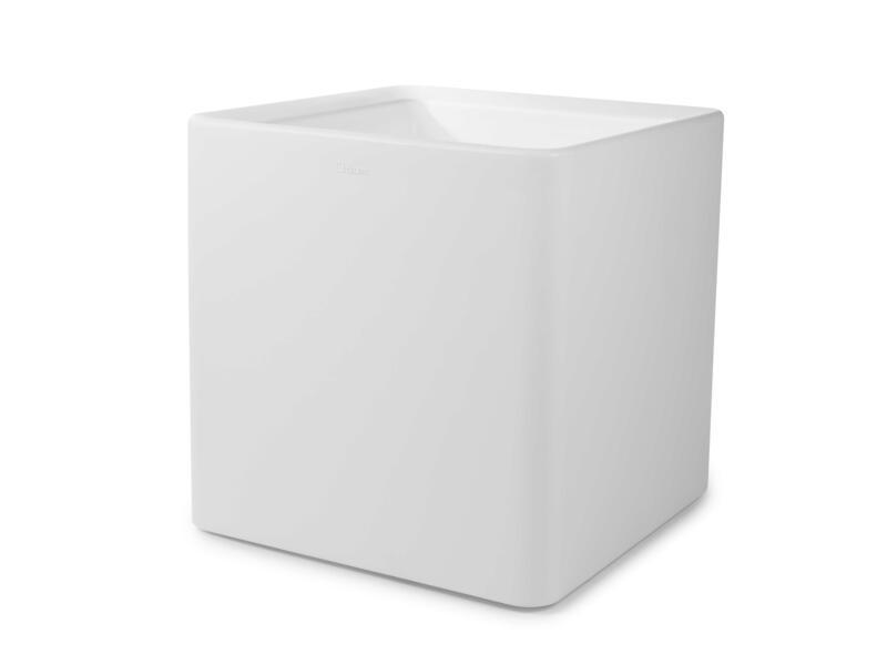 Quadris 60 bloempot 60x60 cm wit