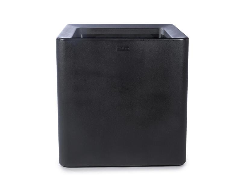 Quadris 60 bloempot 60x60 cm zwart