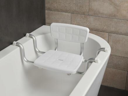 Secucare Quattro badzit verstelbaar in breedte 500-600 mm wit