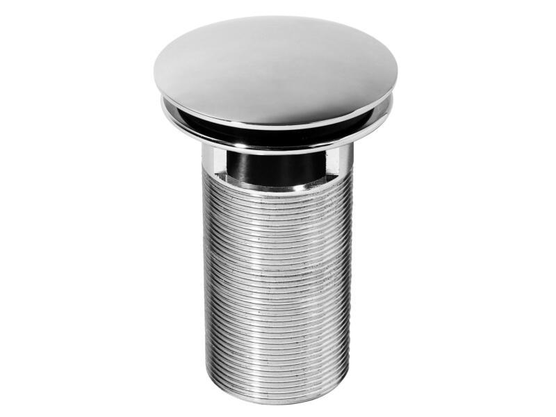 Wirquin Quick Clac bonde de lavabo avec trop-plein 32x100 mm