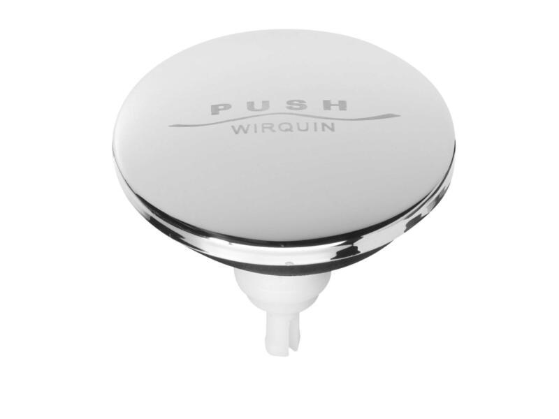 Wirquin Quick-Clac clapet pour baignoire 65mm inox