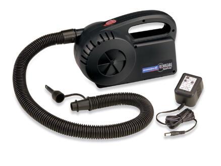 Campingaz Quickpomp pompe à air comprimé 230V + chargeur