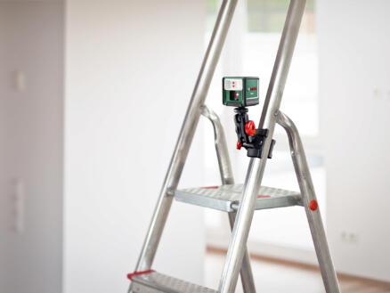Bosch Quigo III niveau laser en croix + fixation pince
