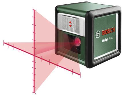 Bosch Quigo Plus niveau laser en croix + trépied