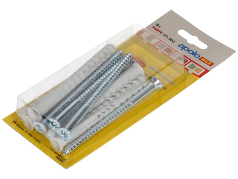 Celo Raampluggen HBR+SSP 10x100 mm 5 stuks