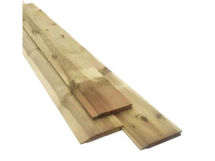 Rabat planche 300x14,5x1,9 cm rabotée pin
