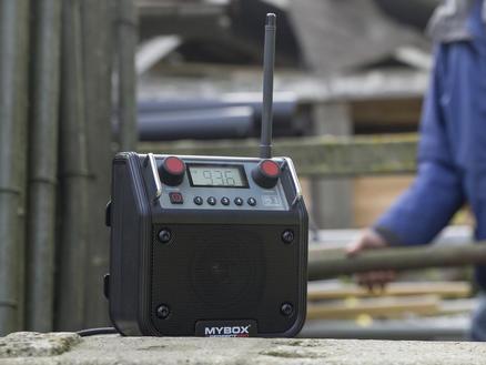 Radio de chantier mybox, nr,